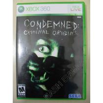 Condemned Criminal Origins - Sedex A Partir De R$ 9,99