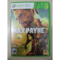 Max Payne 3 - Original - Sedex A Partir De R$ 9,99
