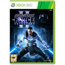 Jogo Ntsc Star Wars The Force Unleashed 2 Para Xbox 360.