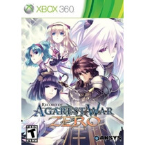 Record Of Agarest War Zero - Jogo Rpg Para Xbox 360 - Ntsc