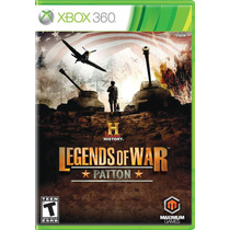 History: Legends Of War Patton Xbox 360 - Lacr. + Nf - S. G.