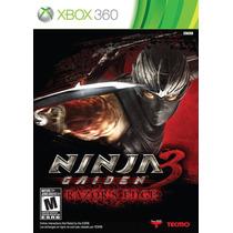 Ninja Gaiden 3: Razors Edge Xbox 360