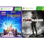 Kinect Disneyland Adventures + Tomb Raider Xbox 360 Original