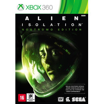 Alien Isolation - Nostromo Edition + Dlc - X360