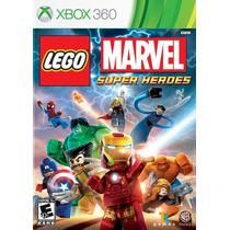 Lego: Marvel Super Heroes - Xbox 360 - Ntsc - Lacrado