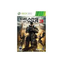Super Game Xbox 360 Gear Of War 3 Original Frete Grátis