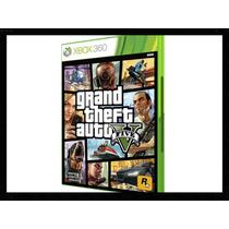 Gta 5 V Grand Theft Auto 5 V Xbox 360 Português Em Estoque!