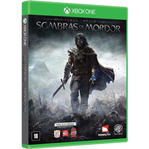 Shadow Of Mordor Sombras De Mordor Portugues Xbox One