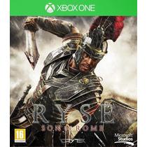 Jogo Ryse Son Of Roma Xbox One Midia Fisica Lacrado Nota F