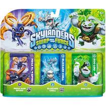 Skylanders Swap Force Mega Ram Spyro Blizzard Chill Zoo Lou