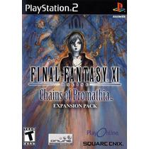 Final Fantasy Xi: Chains Of Promathia - Ps2 - Original