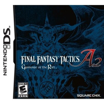 Final Fantasy Tactics A2: Grimoire Of The Rift Psp! Raro!!!!