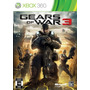 Gears Of War 3 - Xbox -mega Promoçâo Apenas 3 Peças