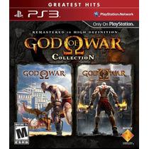 God Of War Collection - Jogo Para Playstation 3 (leia)