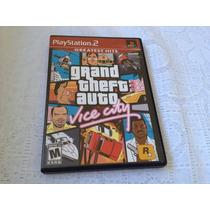 Grand Theft Auto Vice City (sony Playstation 2, 2002)