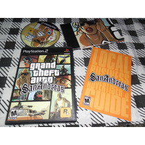 Gta San Andreas Original Ps2 Playstation 2, Ps3, Completo
