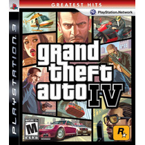 Gta 4 Grand Theft Auto Iv Ps3 - Original Lacrado De Fabrica