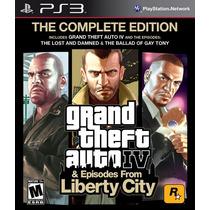 Grand Theft Auto Iv Complete Edition - Ps3 - Novo E Lacrado!