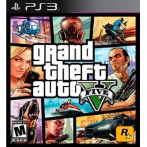 Gta5 Grand Theft Auto V - Ps3 Codigo Psn Legendas Em Pt-br