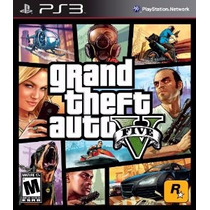 Grand Theft Auto V Gta 5 Ps3 Psn Código Psn Envio Agora