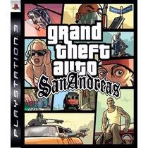 Grand Theft Auto San Andreas Ps3 Psn Digital. Stars Gamesjr