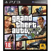 Jogo Novo Grand Theft Auto V Gta 5 Para Playstation 3