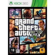 Gta 5 V Grand Theft Auto Português - Xbox 360 - Frete 10,00