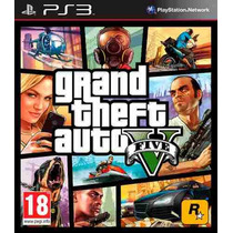 Ps3 - Gta 5 - Gta V - Grand Theft Auto 5 V - Portugues