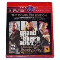 Grand Theft Auto Iv Complete Edition - Americano - Lacrado