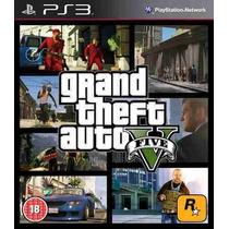 Grand Theft Auto V Legendado Pt Br Para Ps3 Original