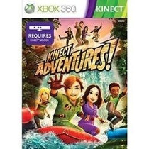 Kinect Adventure X360 - Lacrado Em Midia Frete Gratis
