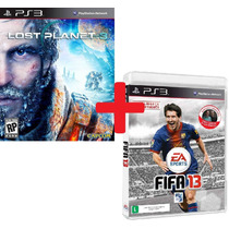 Lost Planet 3 Legendado + Fifa 13 Dublado - Ps3