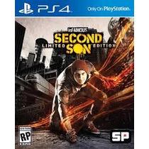 Infamous Second Son + Metal Gear Solid V Para Ps4 Original