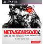 Metal Gear Solid 4 Mgs4 Guns Of The Patriot - Ps3 Codigo Psn