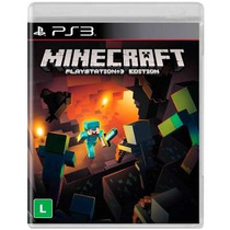 Minecraft Ps3 Legendado Português Original Pronta Entrega