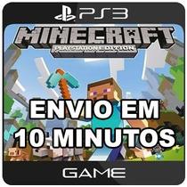 Minecraft Ps3 - Mídia Digital - Português - Código Psn