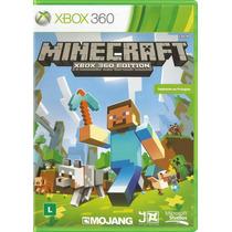 Minecraft Xbox 360 - Português Original Lacrado + Nf - S. G.