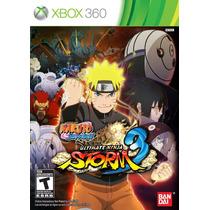 Jogo Naruto Shippuden Ultimate Ninja Storm 3 Xbox 360 Em Pt