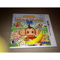 Super Monkey Ball 3d - Completo E Original