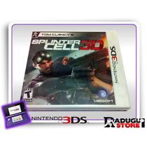 3ds Tom Clancys Splinter Cell 3d Original Nintendo 3ds Novo