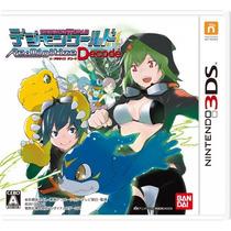 Digimon World Re:digitize Decode 3ds Japones