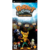 Ratchet & Clank Size Maters Novo E Original C/ Frete Gratis