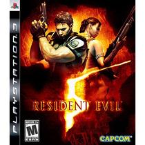 Game Resident Evil 5 Ps3 (novo Lacrado)