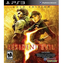 Resident Evil 5 Gold Edition Ps3 (conta Psn) Rafa Gamer!