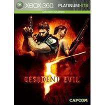 Promoção!! Resident Evil 5 - Platinum Hits Ntsc P/ Xbox360..
