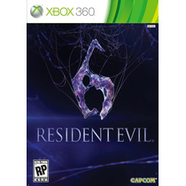 Game Resident Evil 6 Para Xbox 360