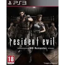 Resident Evil Hd Remaster - Ps3 - Código Psn - Gamesgo