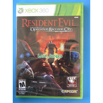 Resident Evil: Operation Raccoon City - Xbox 360 - Lacrado.