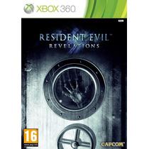 Resident Evil Revelations Xbox Original Lacrado- Frete 10,00