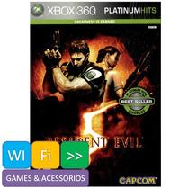 Resident Evil 5 Platinum Hits Xbox 360 Sedex Partir R$ 6,00